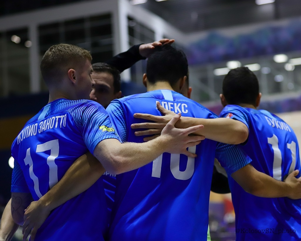 Мини-футбольный клуб «Норильский никель» одержал победу над «Ухтой» в первом матче 16-го тура Париматч-чемпионата России