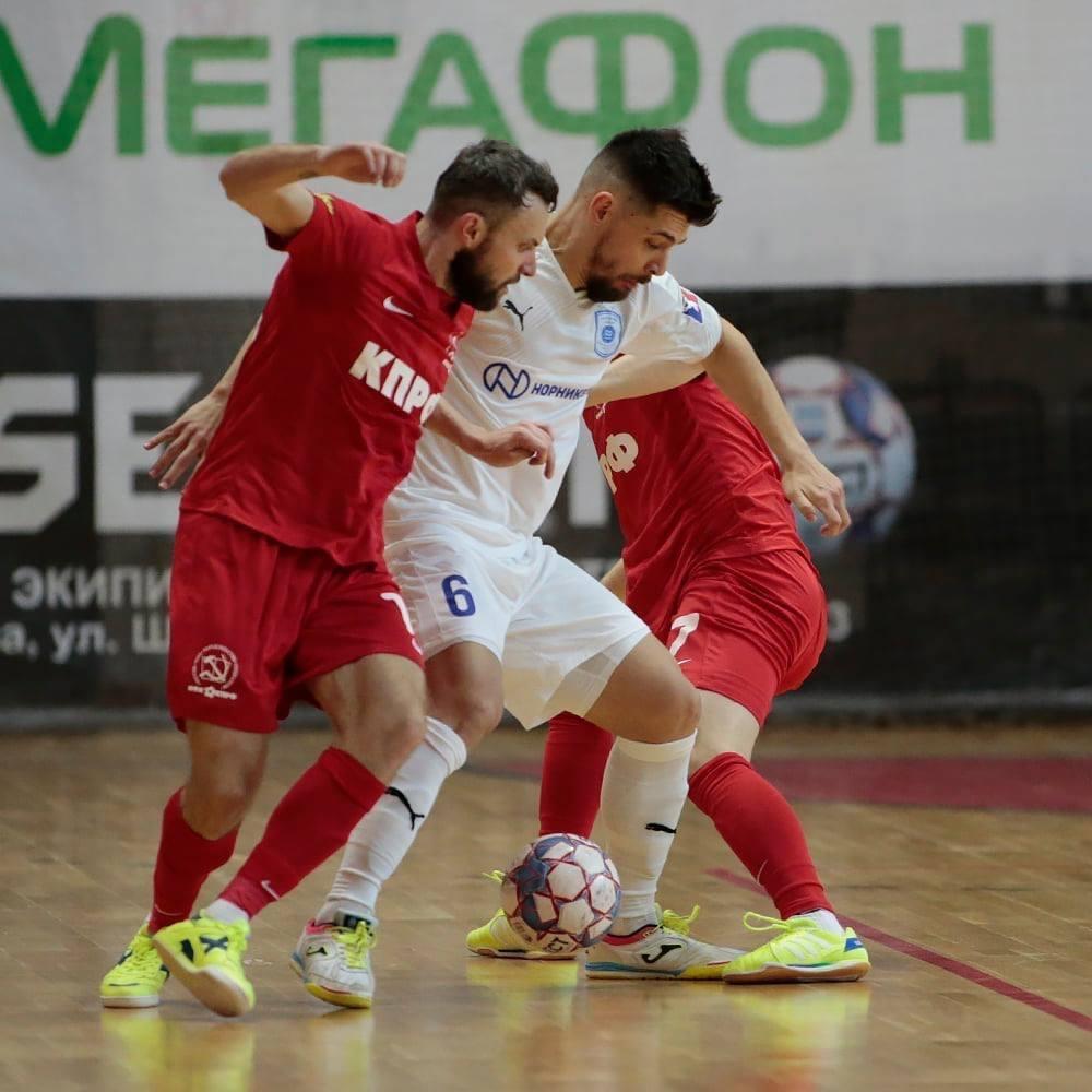 МФК «Норильский никель» досрочно стал вице-чемпионом регулярного этапа чемпионата, обыграв чемпиона страны