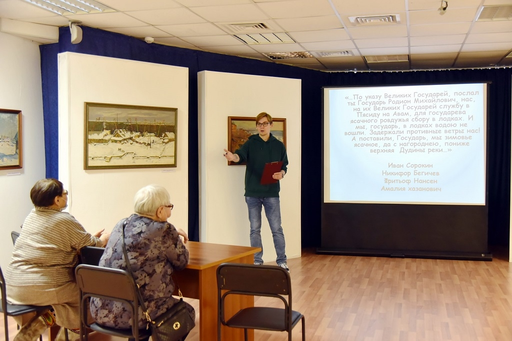 В Таймырском краеведческом музее открылась выставка, посвящённая 70-й годовщине присвоения Дудинке статуса города