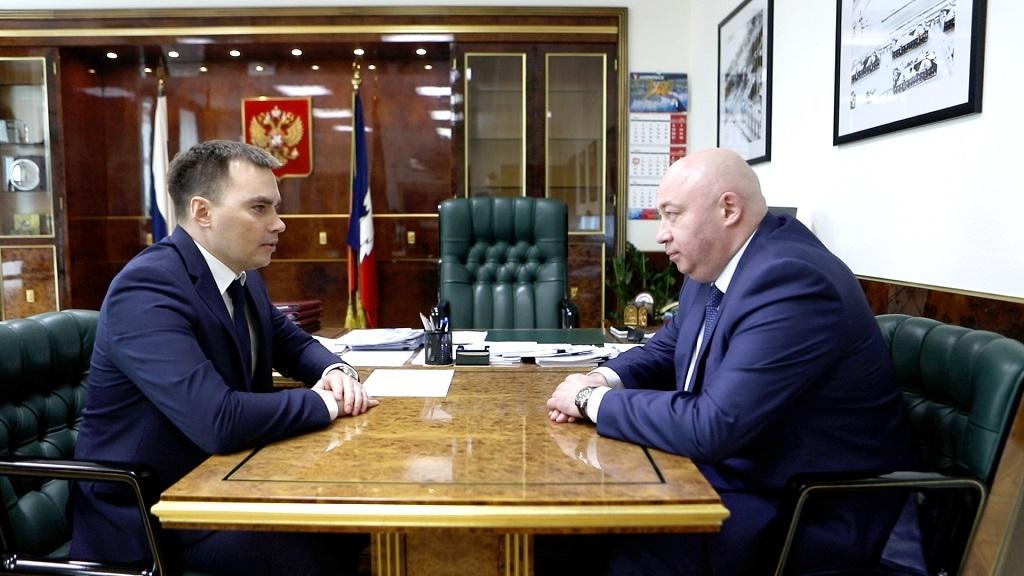 Глава Норильска Дмитрий Карасев приступил к формированию новой административной команды