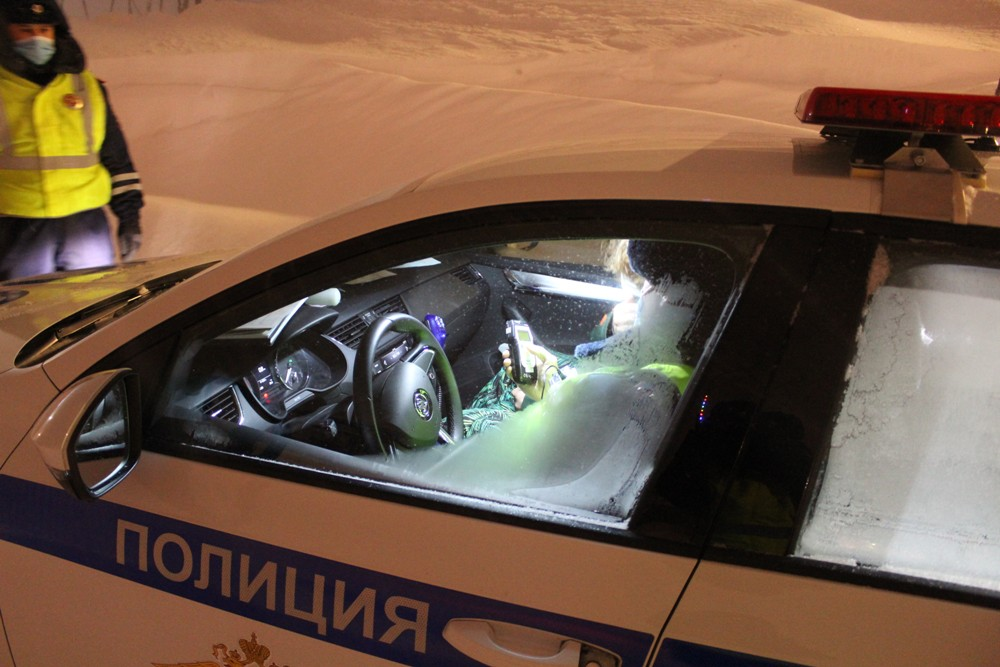 В выходные дорожные полицейские провели рейд «Нетрезвый водитель»