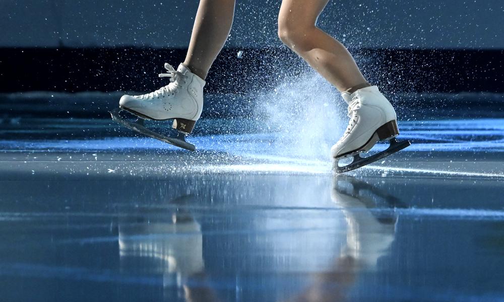 Норильские спортсмены выступили на чемпионате Красноярского края по фигурному катанию