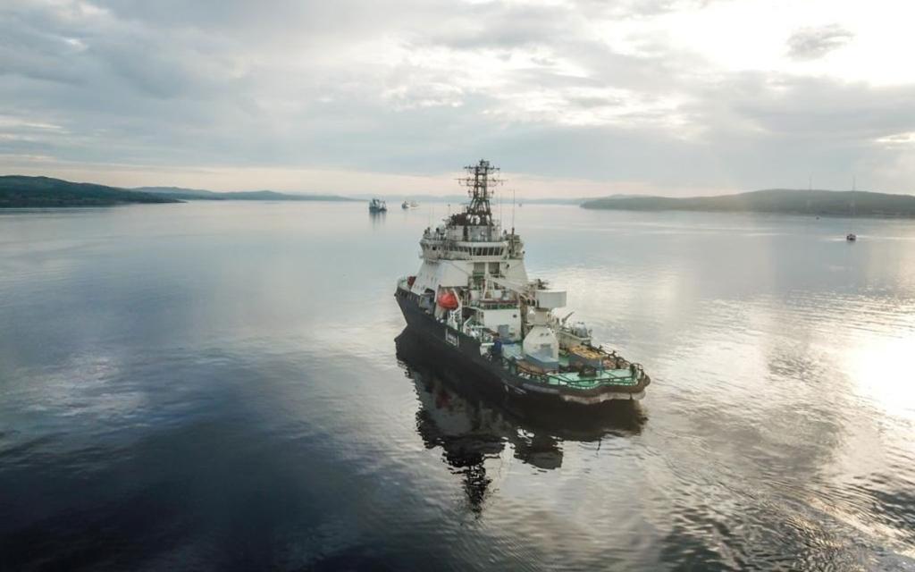 Впервые корабли арктической группировки Северного флота вошли в Карское море северным маршрутом