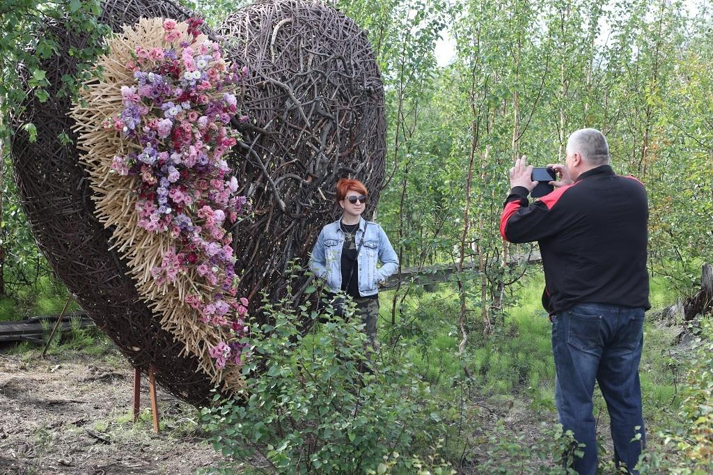 Подведены итоги голосования за лучшую скульптуру фестиваля «Северный ЛэндАрт»