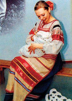 Возрождение традиций. В норильском роддоме будущих мам научат общению с малышами.