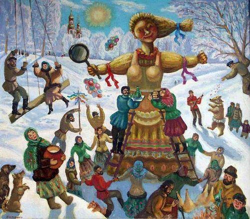 От Встречи, через Разгуляй до Прощеного. С понедельника, 12 февраля, идет неделя Масленицы.
