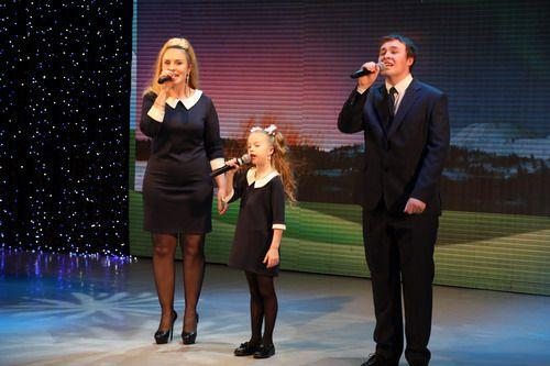 В ГЦК прошел первый конкурс «Папа, мама, я - музыкальная семья», посвященный 65-летнему юбилею Норильска.