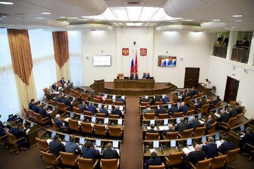 Спикер краевого парламента Дмитрий Свиридов подписал распоряжение о созыве чрезвычайной сессии Законодательного собрания.