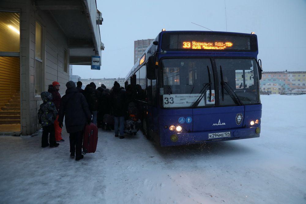 Движение автобусов в аэропорт и Кайеркан возобновлено в обычном режиме.