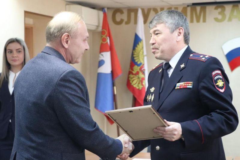 В Норильском ОМВД поздравили ветеранов органов внутренних дел.