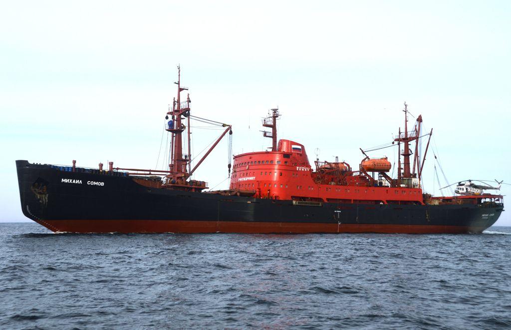 Сегодня стартовал второй этап морской исследовательской экспедиции «Трансарктика-2019».