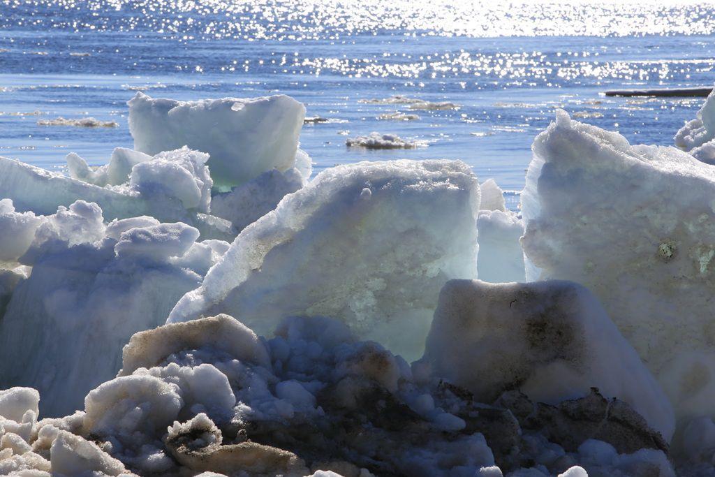 Кромка льда приближается к отметке в 1000 километров от Дудинки.
