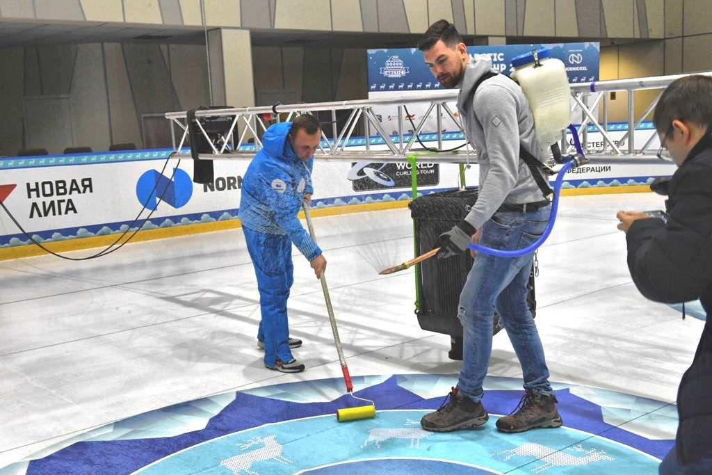 В Дудинке всё готово к старту этапа мирового тура по кёрлингу Arctic Curling Cup.