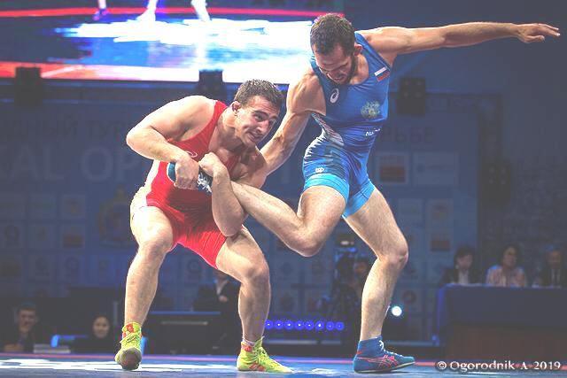 Норильчанин занял призовое место на престижном международном турнире по вольной борьбе.