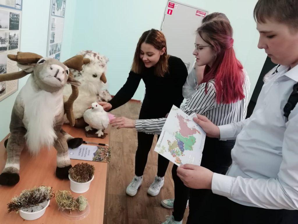 Сегодня в 23-й школе прошло мероприятие, приуроченное к Международному дню биологического многообразия.