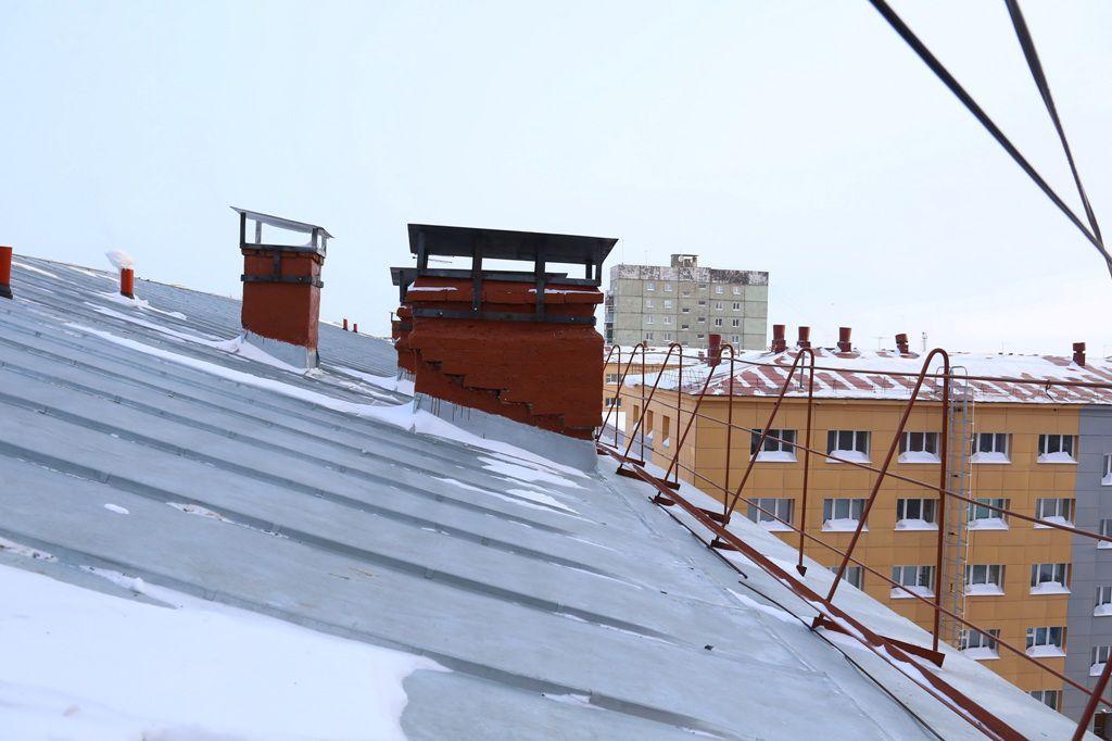 На одном из домов Норильска завершаются работы в рамках региональной программы капитальных ремонтов.