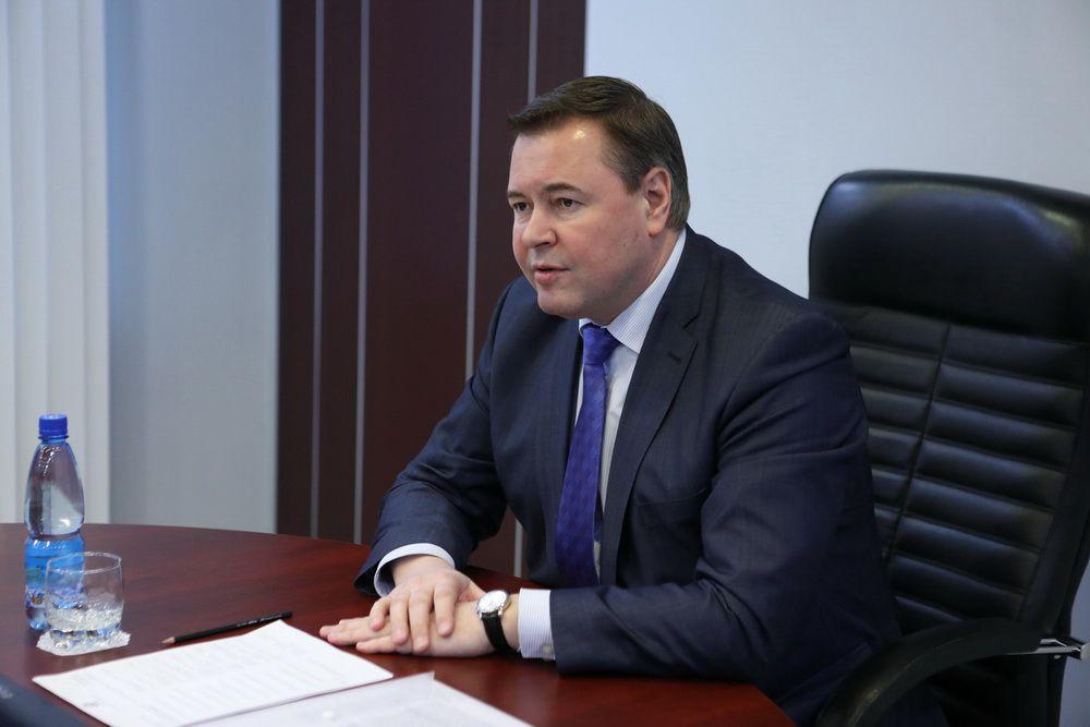 В Норильске с рабочим визитом находится спикер краевого парламента.