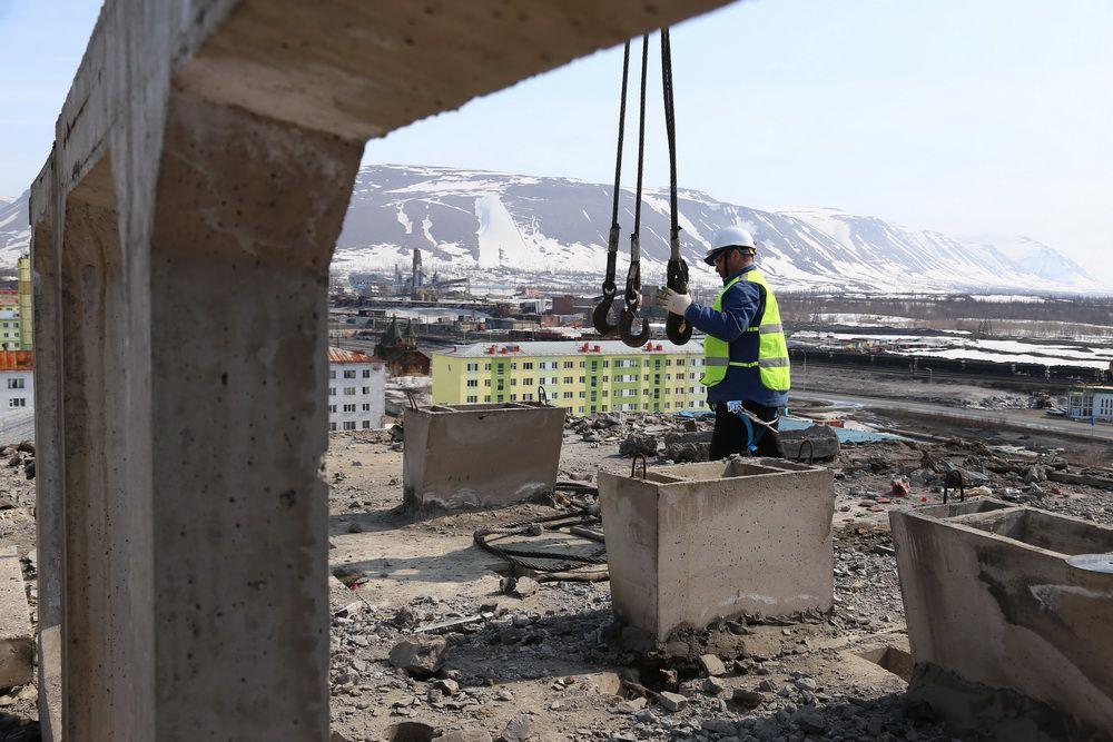 Для специалистов «Норникеля» в Талнахе строят новый дом. Это обойдётся компании в 400 миллионов рублей.