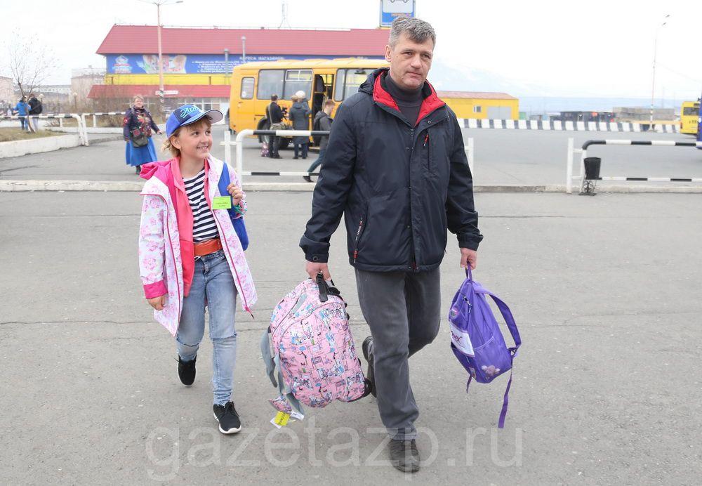 Юные норильчане вернулись из международного детского лагеря «Артек».