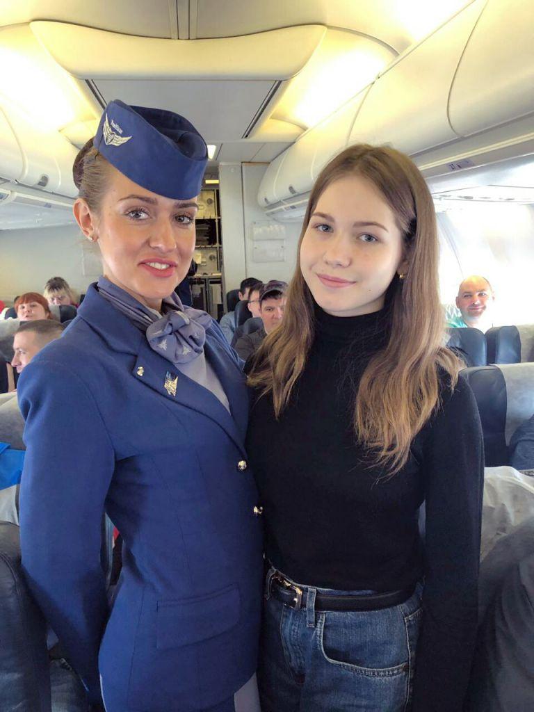 Норильчанка София Морозова стала обладательницей сертификата на бесплатный полёт.