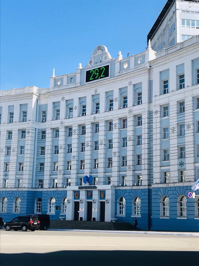 Сейчас в Норильске +29 градусов, но уже завтра вновь похолодает.