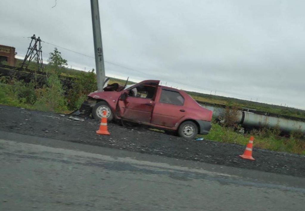 Сегодня ранним утром на автодороге Норильск - Талнах произошло ДТП со смертельным исходом.