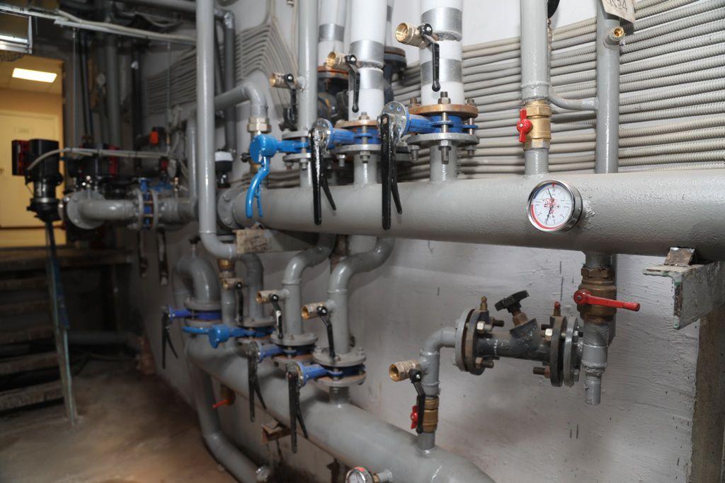 В 23-й школе закончился трёхлетний ремонт системы отопления и вентиляции.