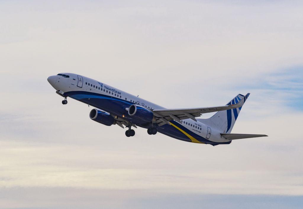 С сегодняшнего дня авиакомпания NordStar проводит распродажу авиабилетов на рейсы из Красноярска в Санкт-Петербург и Пекин.