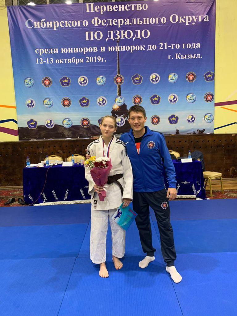 Норильчанка Оксана Паскарелова стала бронзовым призёром первенства Сибирского федерального округа по дзюдо.