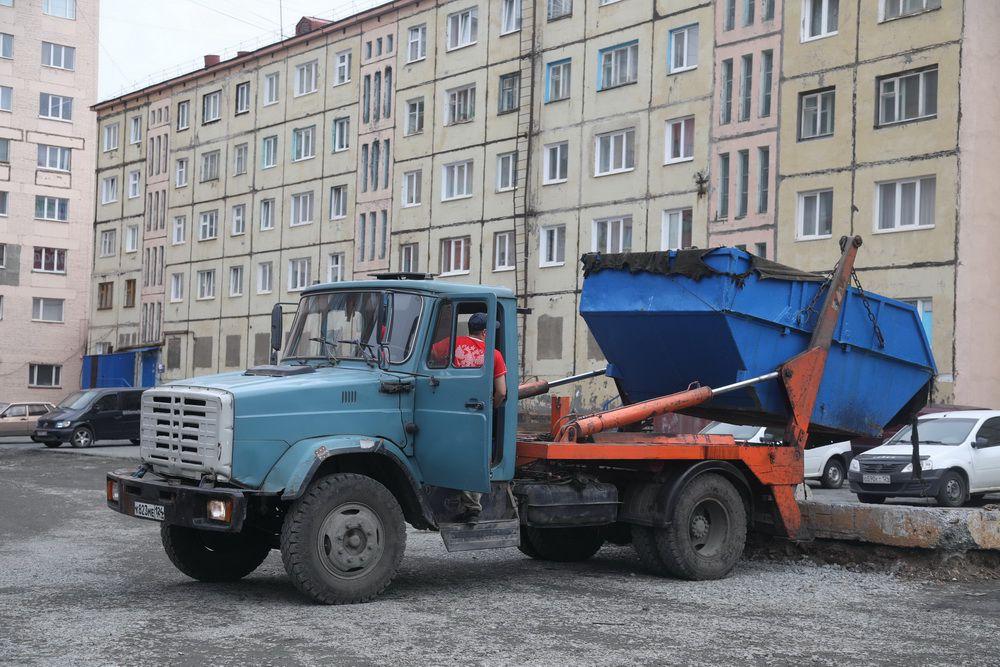 Норильск получит новые мусорные контейнеры.