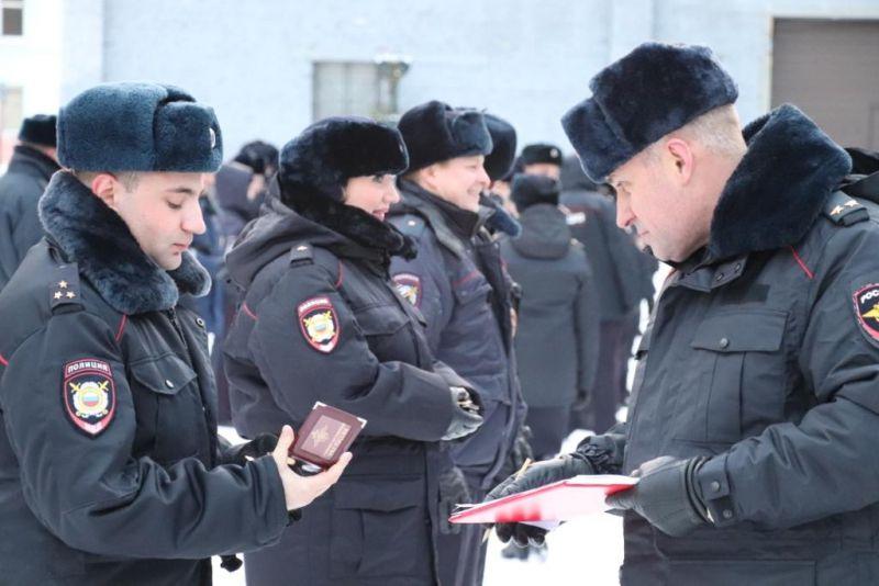 Личный состав Норильского ОМВД к зиме готов.