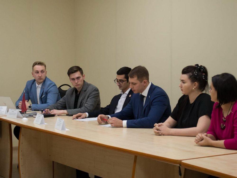 Состоялась встреча северных молодёжных парламентов.