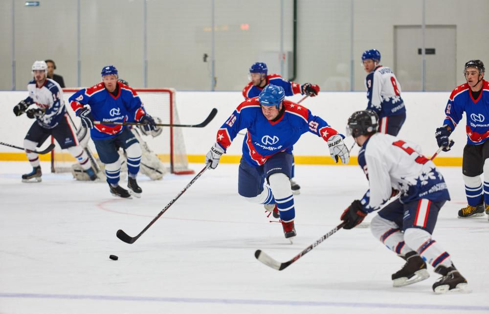 В Москве разыграли третий корпоративный турнир «Норникеля» по хоккею. Победу в нём отпраздновали финны.