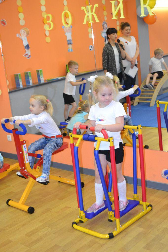 В Молодёжном центре Кайеркана открылась детская спортивная площадка «Зожик».
