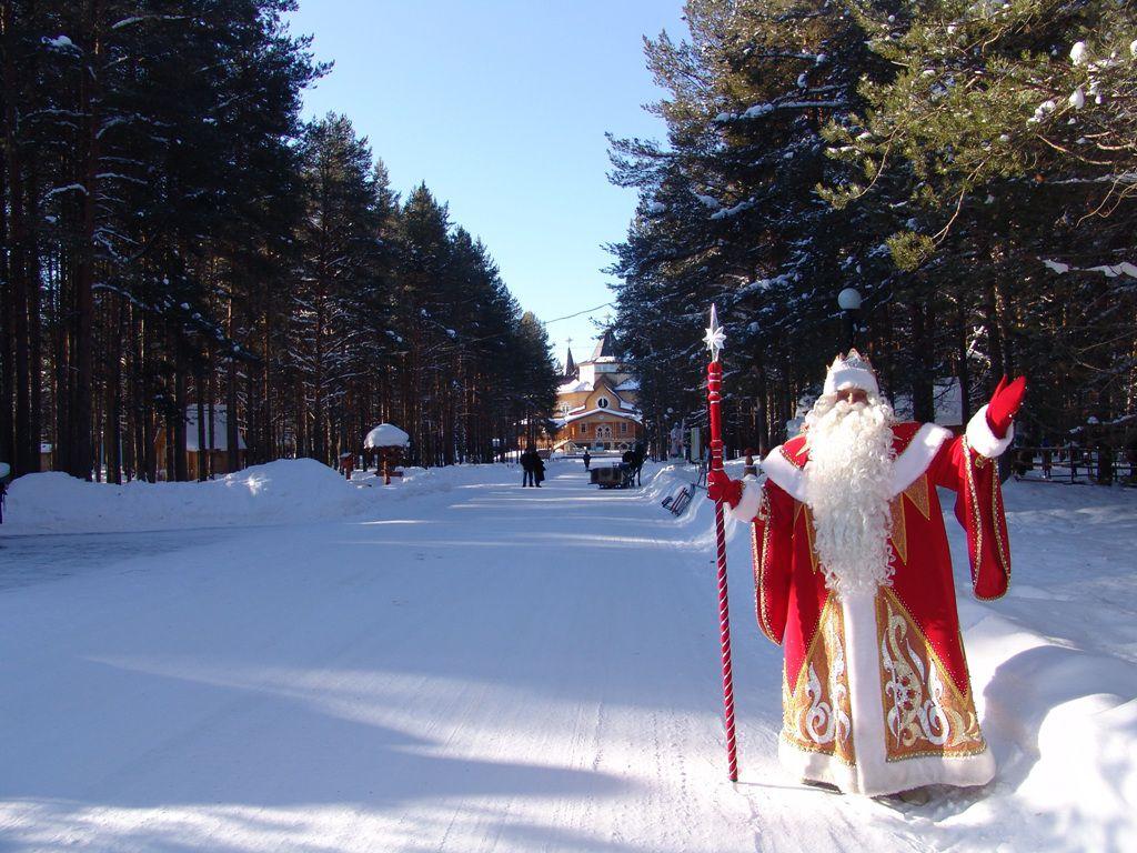 Главный Дед Мороз страны посетит Красноярск.