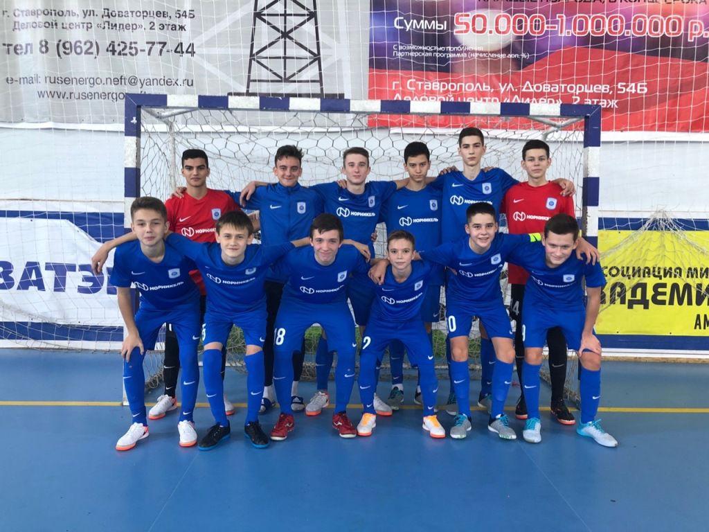 Юношеская команда МФК «Норильский никель» стартовала в новом сезоне Суперлиги U-16.