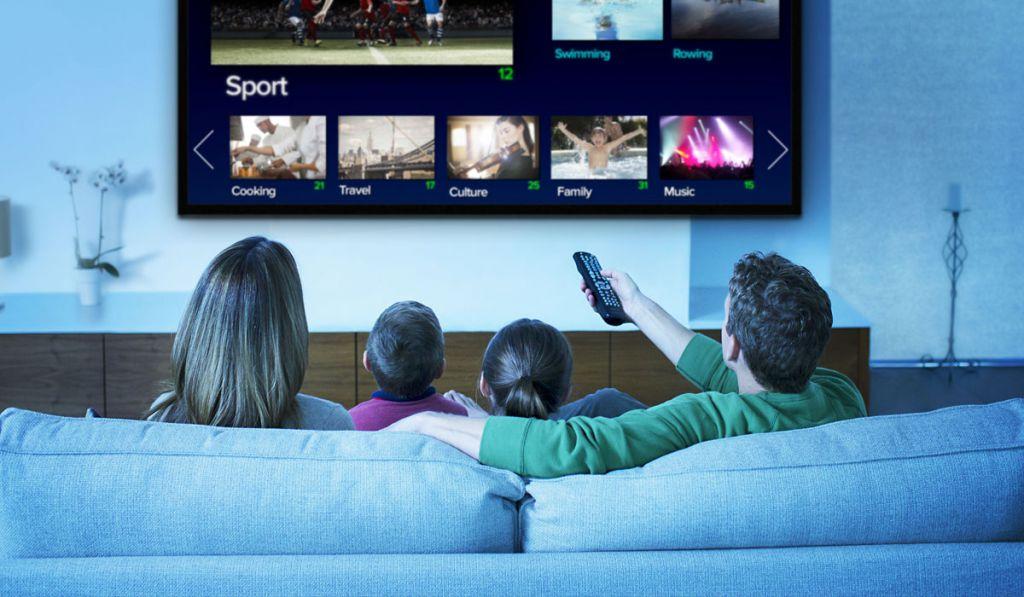 Если случился сбой в телевещании, нужно перенастроить каналы.