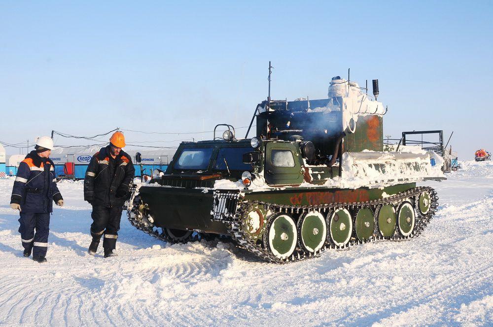 """В 37 млрд баррелей нефтяного эквивалента оценивается потенциал проекта """"Восток Ойл"""" в Арктике."""