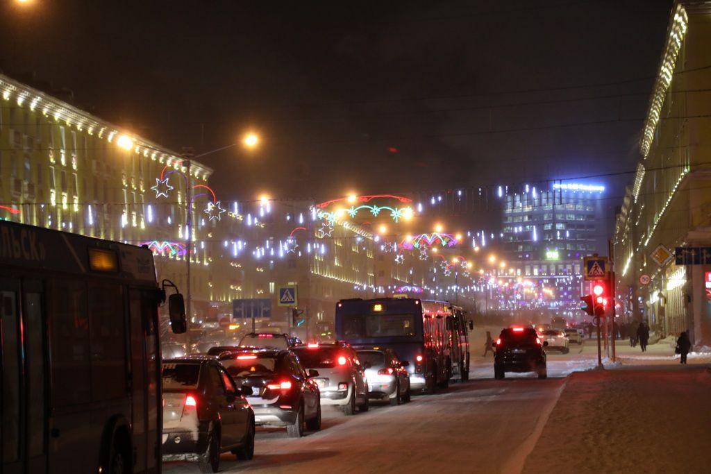 Системы освещения Норильска готовят к полярной ночи.