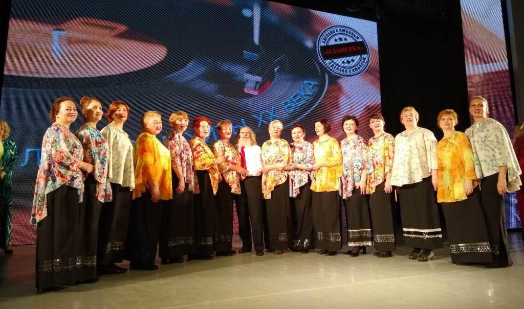 Творческое объединение «Планёрка» устроило новую яркую встречу «Любимые хиты XX века».