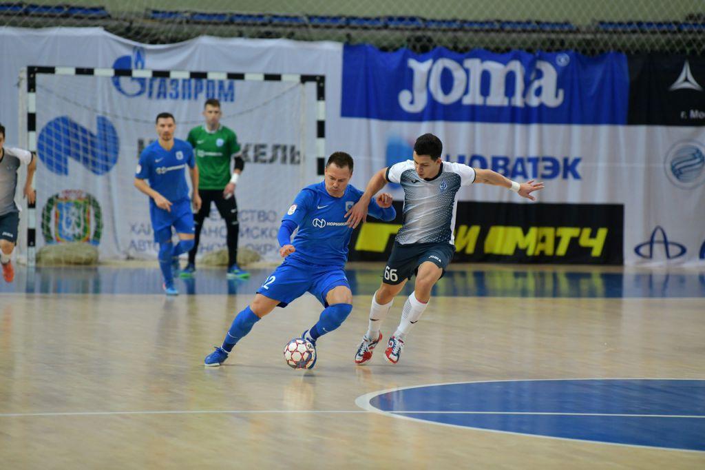 МФК «Норильский никель» сыграл боевую ничью с «Динамо-Самара» - 2:2.