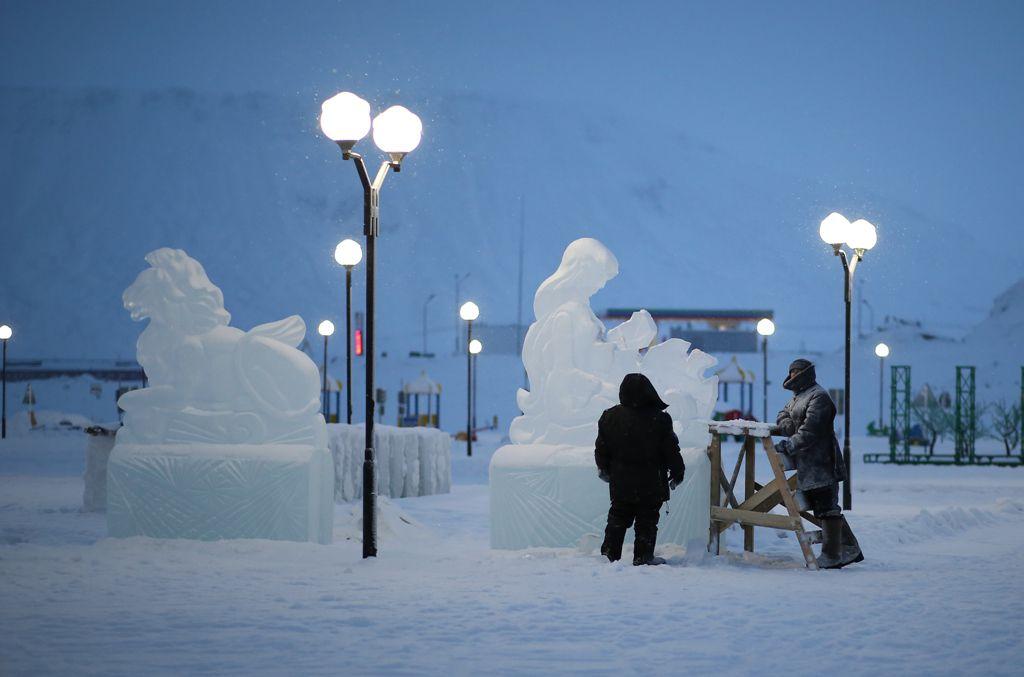 В этом году снежные городки откроются раньше обычного: уже 14 декабря.