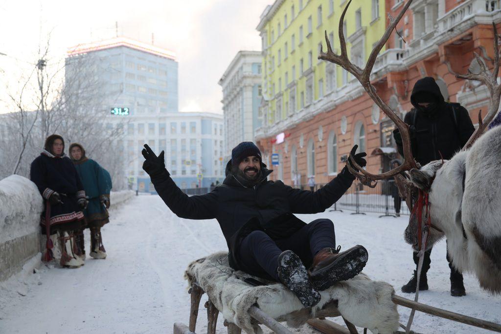 Художники и путешественники из пяти стран мира открыли для себя Русское Заполярье.