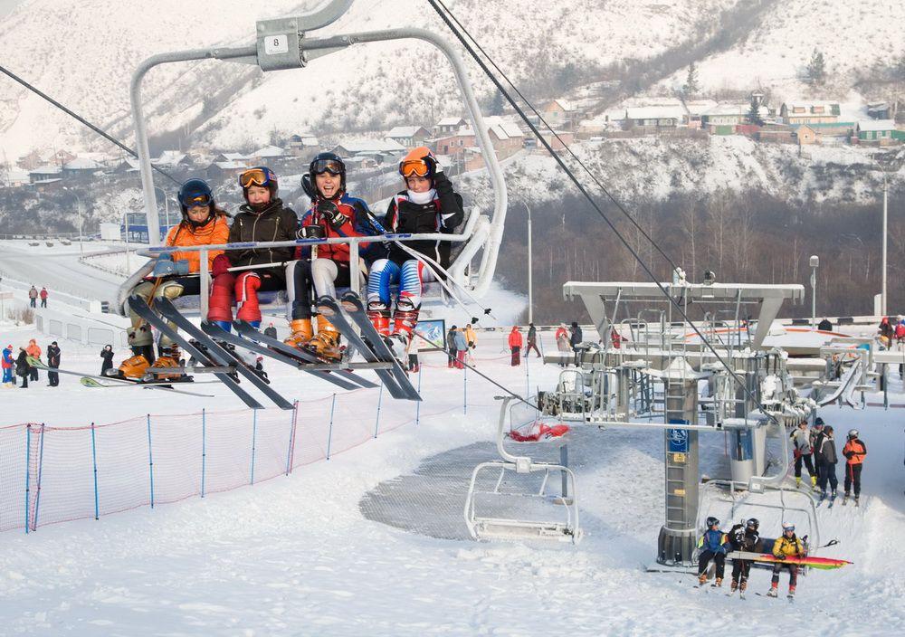 Красноярск оказался в топ-10 популярных городов для отдыха зимой.