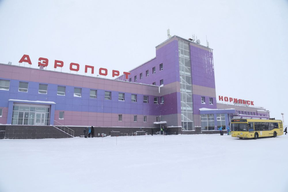 Ограничен въезд иностранцев в Норильск.