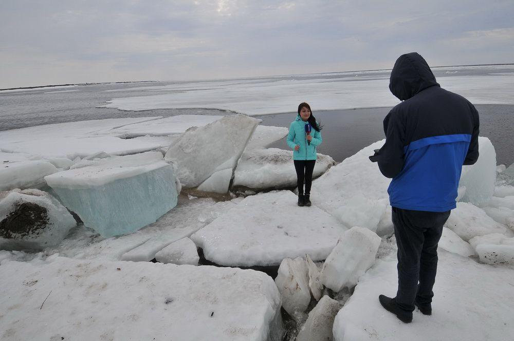 На Таймыре обсудили готовность к предстоящему ледоходу.