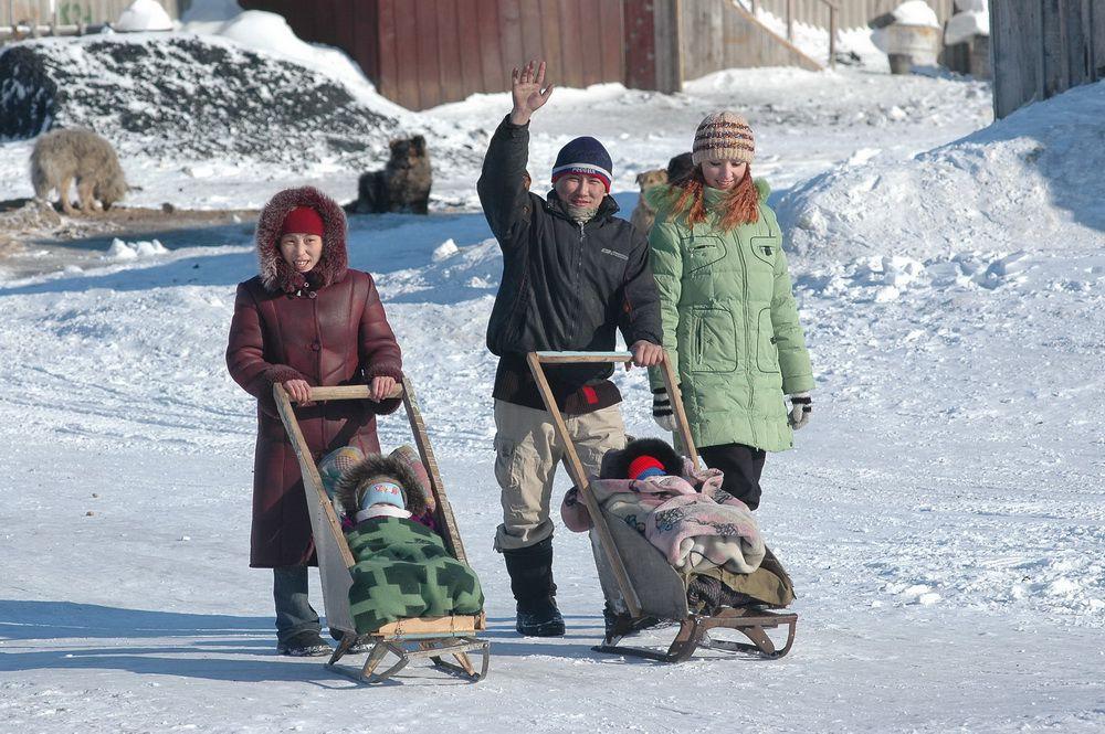 Есть контакт. В поселке Сындасско Хатангского района Таймыра появился интернет.