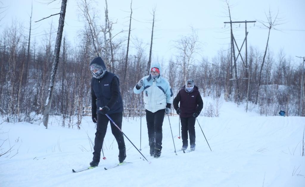 Норильск примет участие в 39-й «Лыжне России»