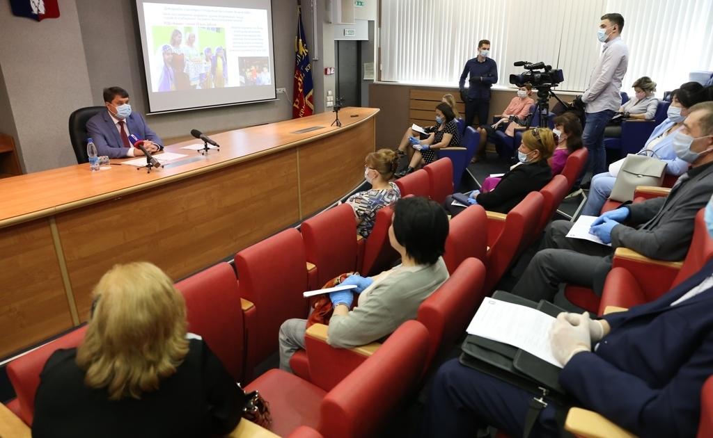 В Норильске прошло заседание Консультативного совета по делам национальностей