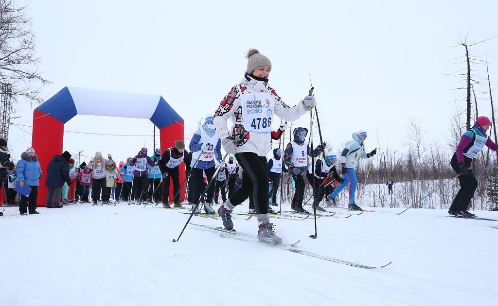 Норильский этап «Лыжни России» перенесли на 20 марта